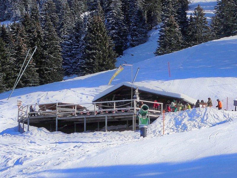 schneehöhe lenzerheide